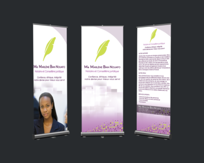 Roll Up Banner Design - Large Format