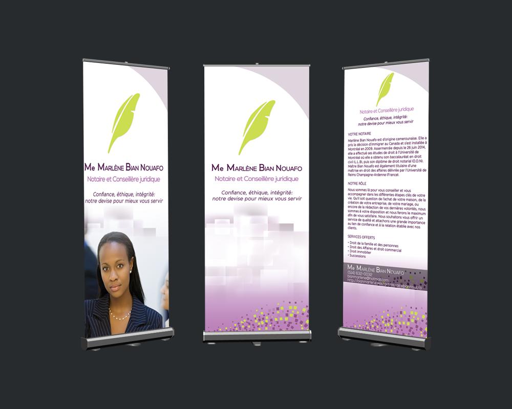 Roll Up Banner Design - Large Format