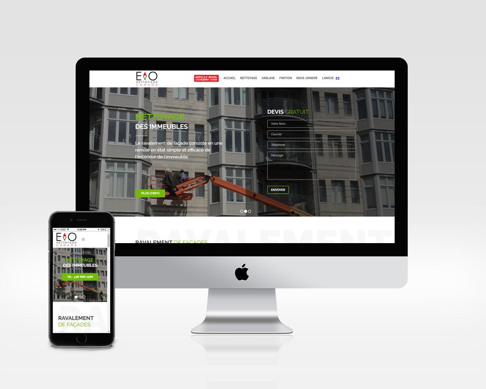 Responsive Web Site Creation